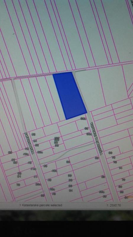 Plac za izgradnju stambenog,poslovnog objekta 5700 m2