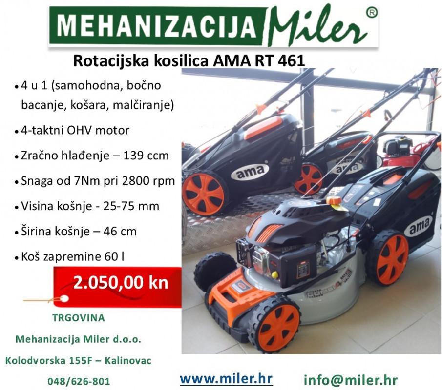 Rotacijska kosilica AMA RT 461
