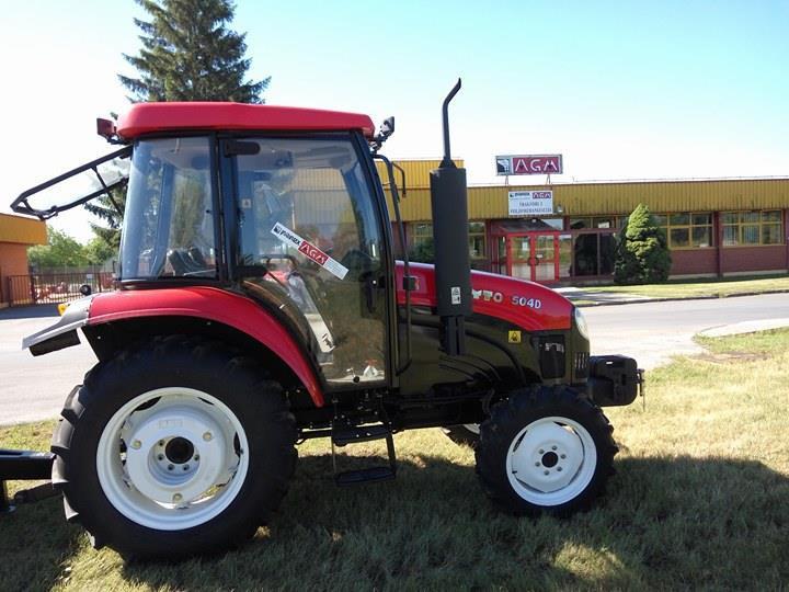 Traktor YTO 504, 50 ks