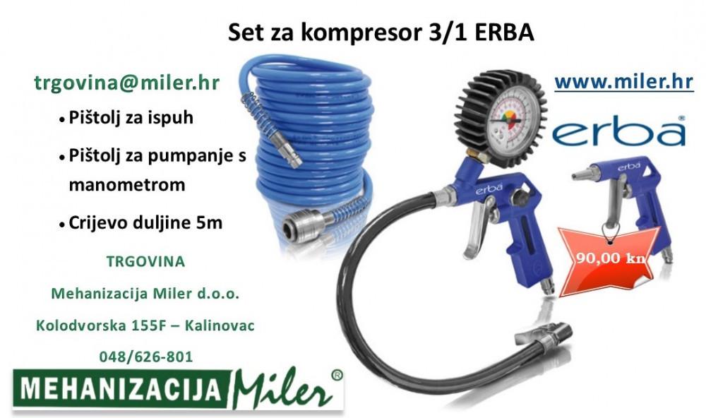 Set za kompesor ERBA