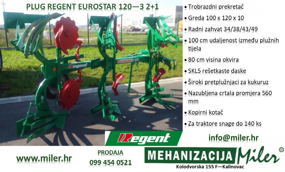 Plug Regent Eurostar 120-3   2+1