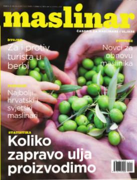 Novi broj časopisa Maslinar!