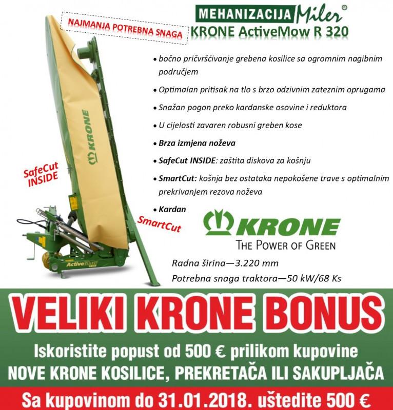 KRONE ActiveMow R 320 kosilica