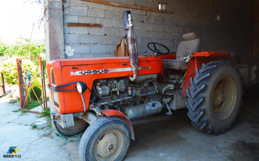 Servis Ursus traktora