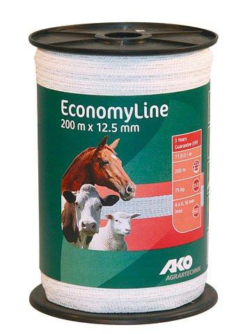 Traka za električne ograde ECONMYLINE 200m x 12.5 mm