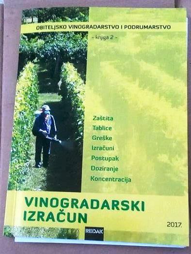 """priručnik """"Vinogradarski Izračun"""""""