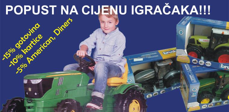 Akcija na igračke za djecu