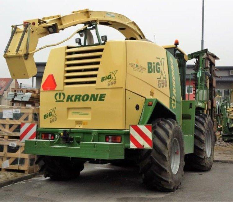 KRONE Big X 650 silažni kombajn