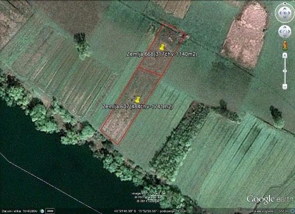 Poljoprivredno zemljište u Lijevom Sredičkom