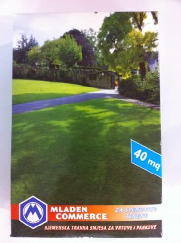 Sjemenska travna smjesa za vrtove i parkove