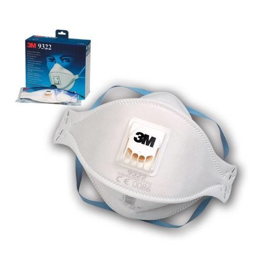 3M Respirator 9322 P2 VENTIL