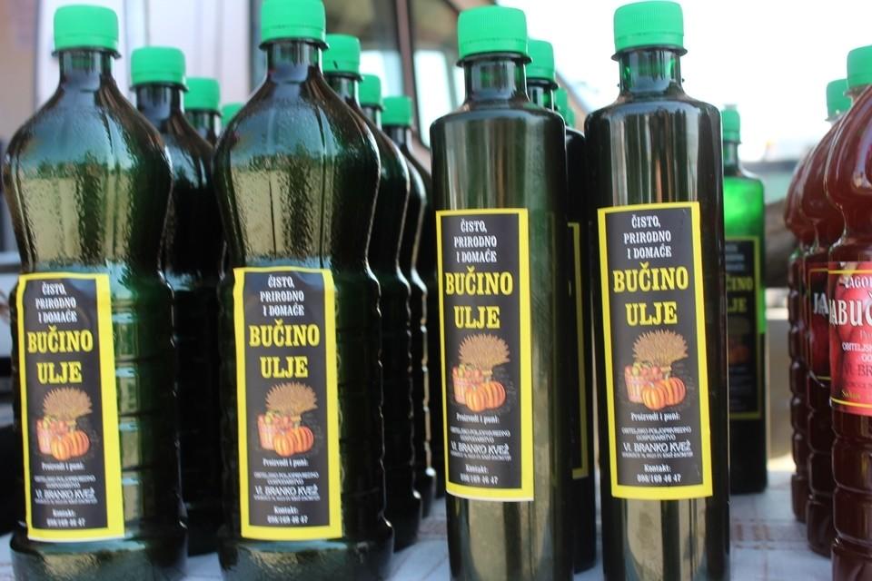 Prirodno bučino ulje i Zagorski domaći jabučni ocat