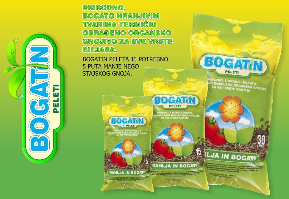 BOGATIN PELETI - organsko gnojivo