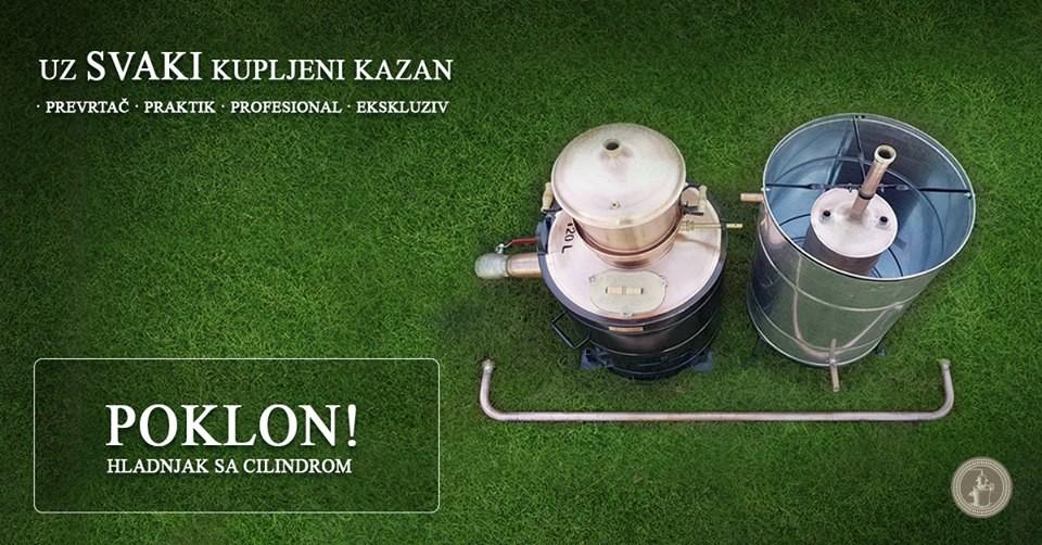 Akcija do kraja oktobra! Destilatori kazani!