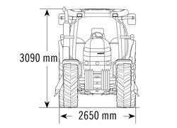 TRAKTOR CASE IH - PUMA 210