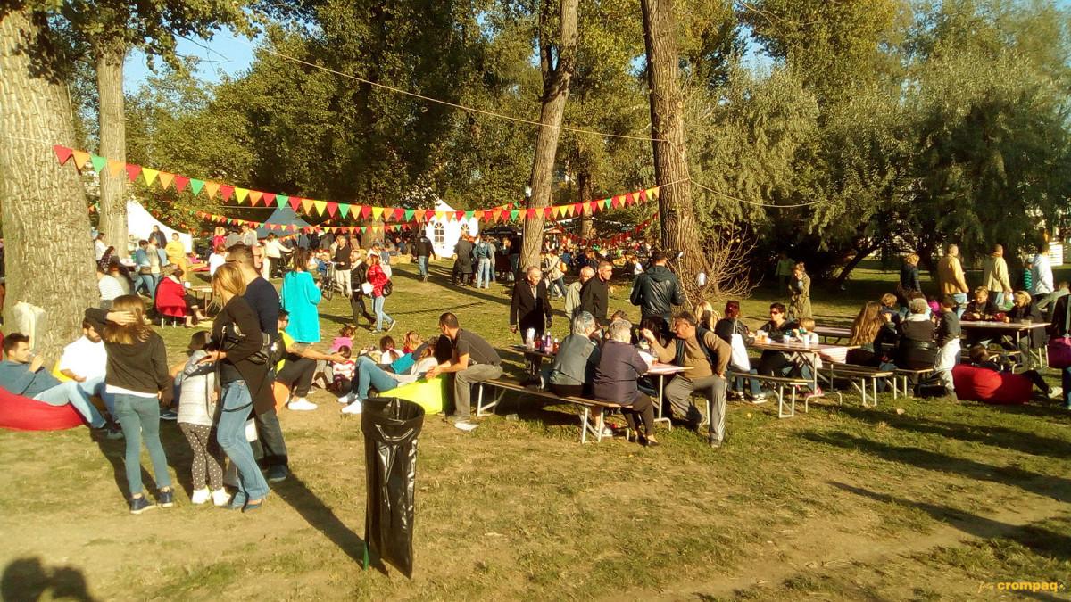 Okupljeni na festivalu, Foto: Krompičice (60547)