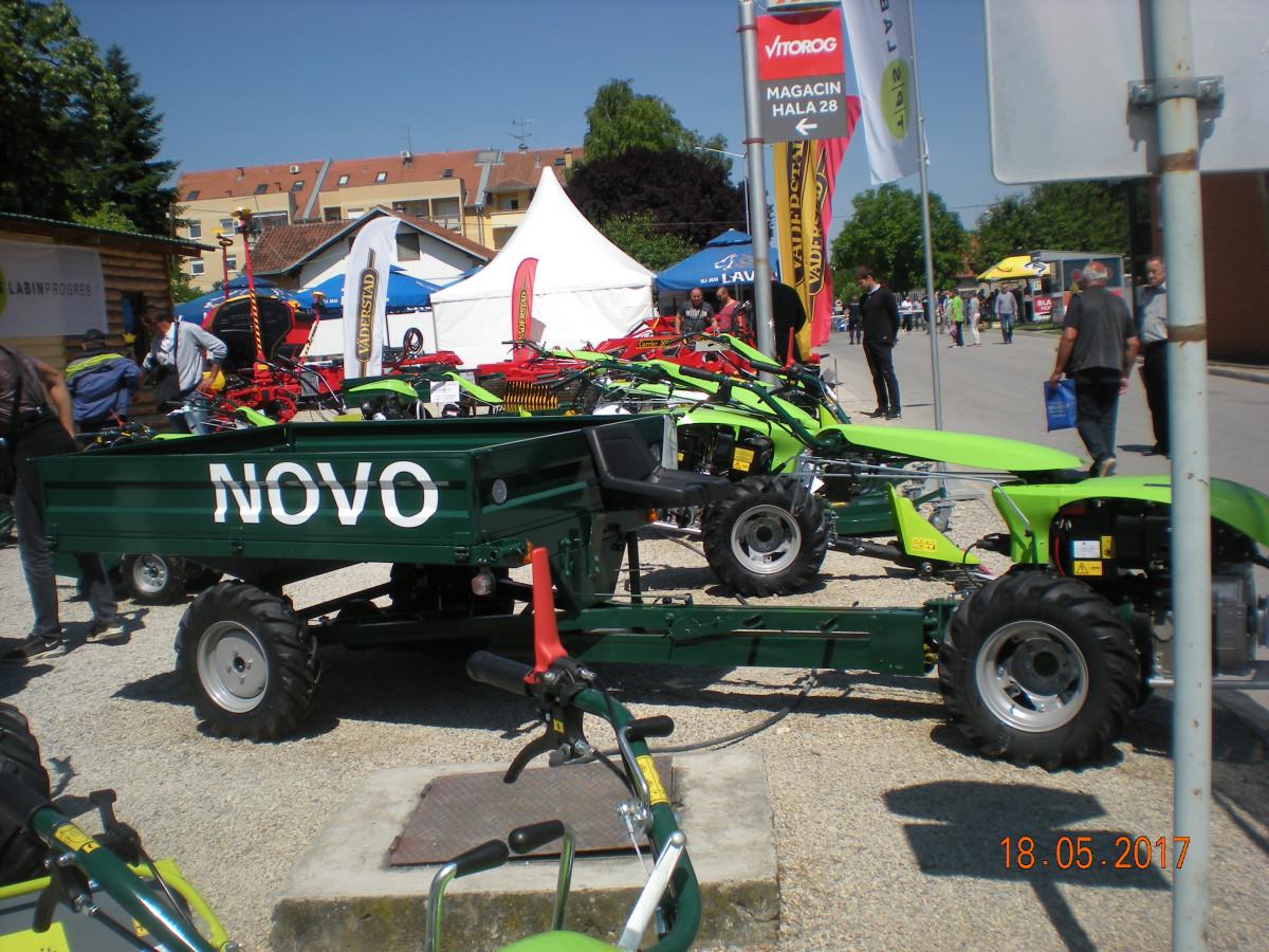 Motokultivator MTK Green sa prikolicom PP 1000 (53741)