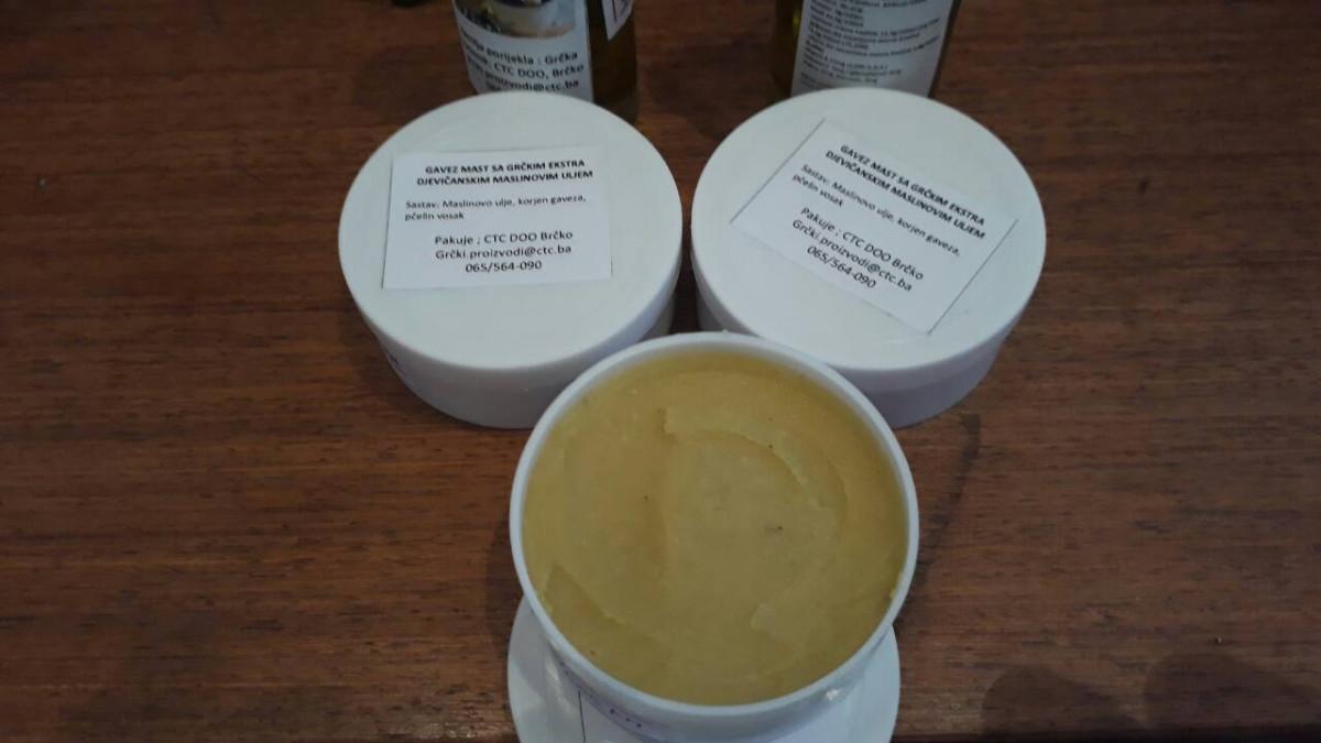 Melem gavez, maslinovo ulje i pčelin vosak (63946)