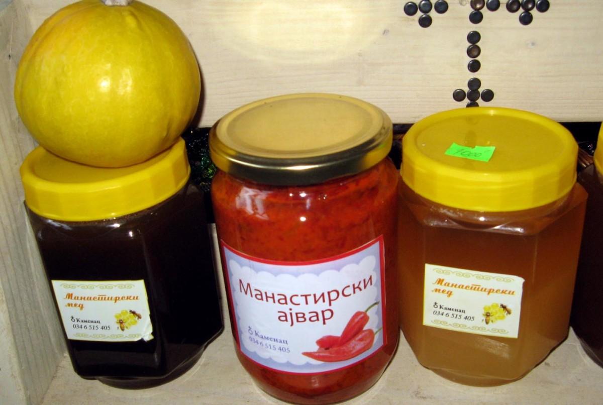 Med, zimnica