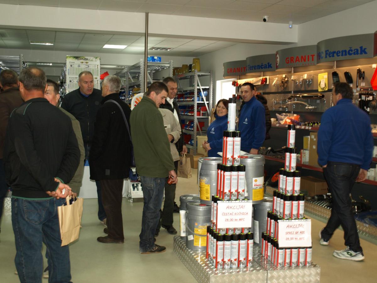 Otvaranje trgovine PSC Ferenčak u Križevcima (52009)