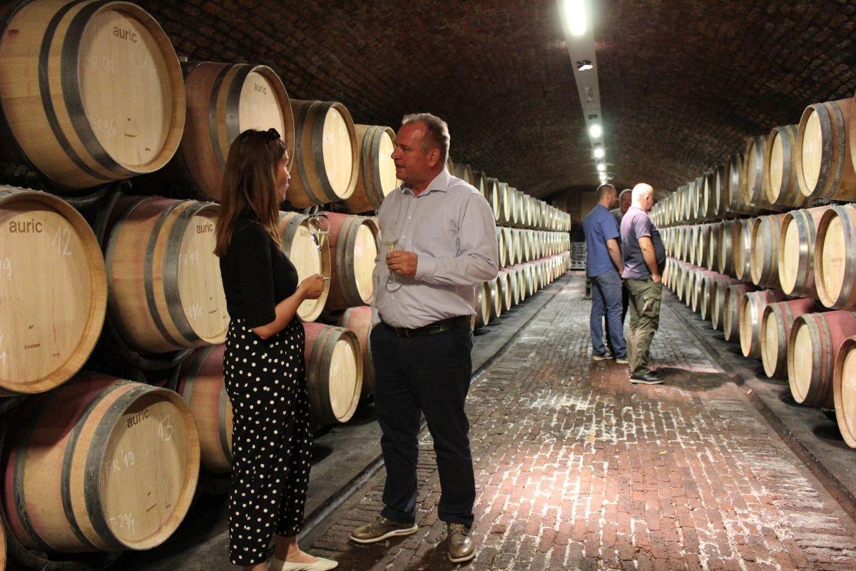 Vinski podrum, drvene bačve