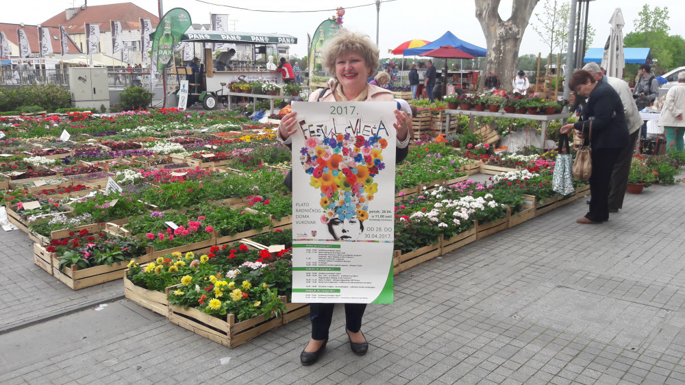 Cvjetni festival okupio Vukovarce i ljubitelje bilja