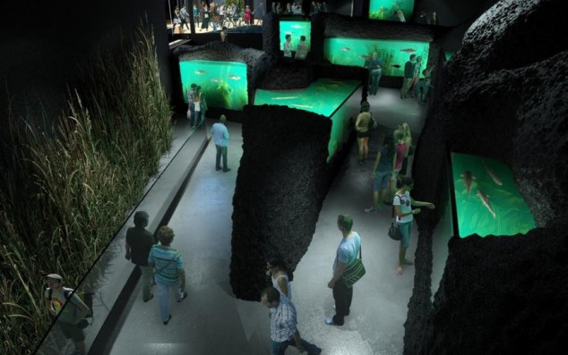 Kaquarium - slatkovodni akvarij i muzej rijeka