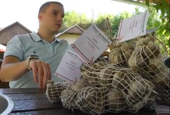 Mlade nade poljoprivrede - baranjski eko češnjak!