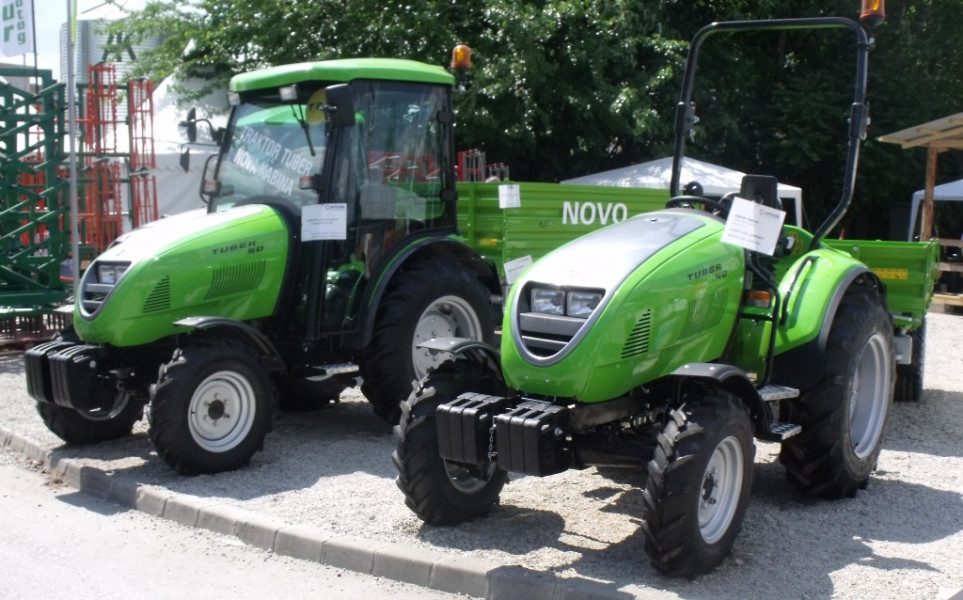 Labinski traktori sa stilom među elitom u Vojvodini
