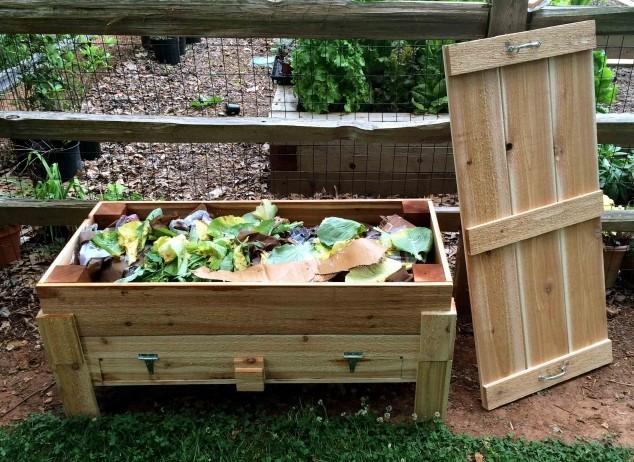 Kako kompostirati uz pomoć glista?