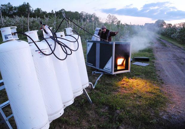Zaštita voćaka i vinove loze od proljetnih mrazova