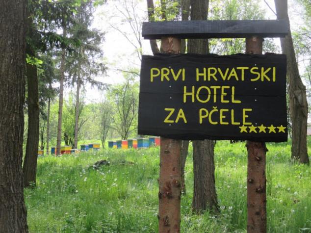 Prvi hrvatski hotel za pčele - i to sa pet zvjezdica!