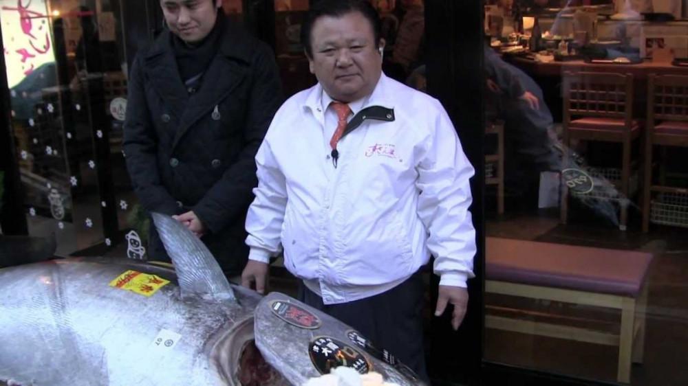 Plavoperajnu tunu tešku 210 kg platio 605.000 eura!