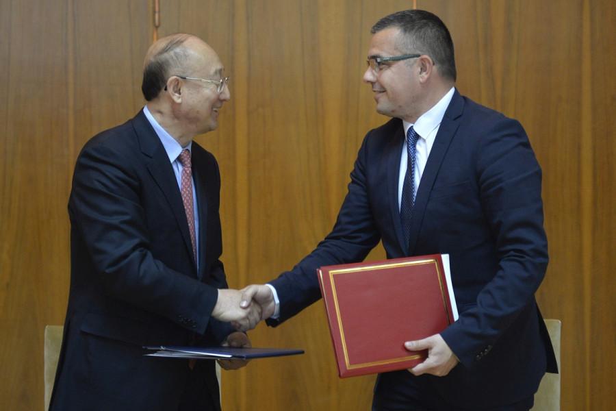 Potpisan Memorandum između Srbije i Kine