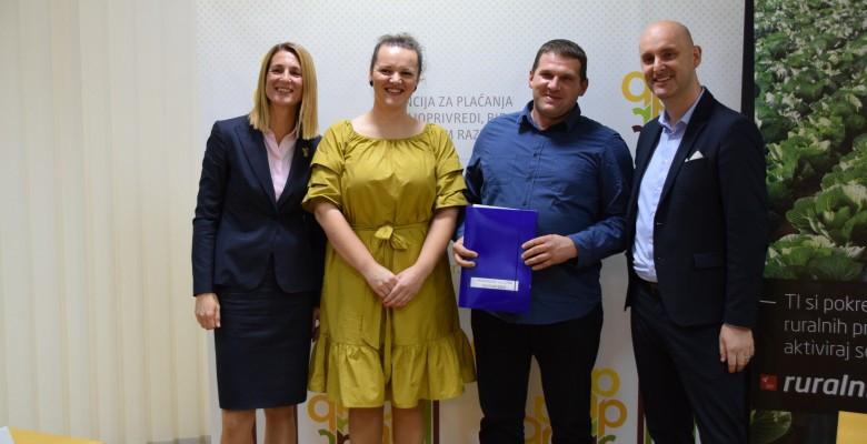 Potpisani novi ugovori iz mjere 4 vrijedni 89 milijuna kuna
