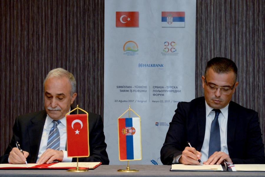 Izvoz mesa i ulja u Tursku?