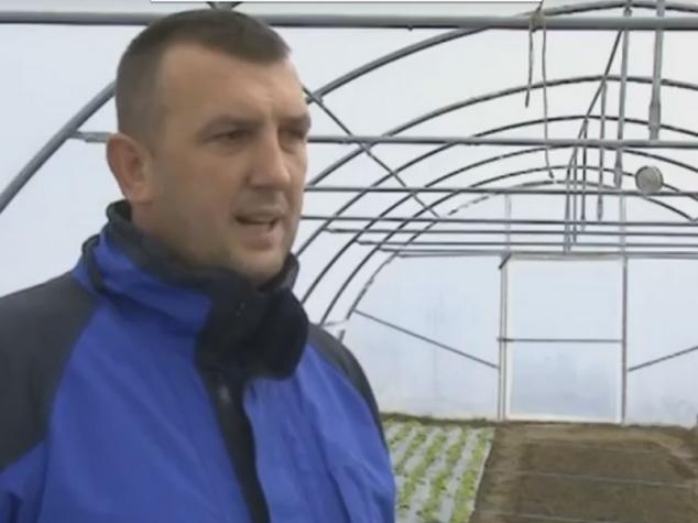 Nevres Mustafić: Dobio sam plastenik i priliku za posao