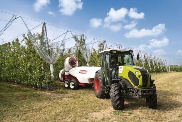 Claas Nexos traktori malih dimenzija velikih performansi