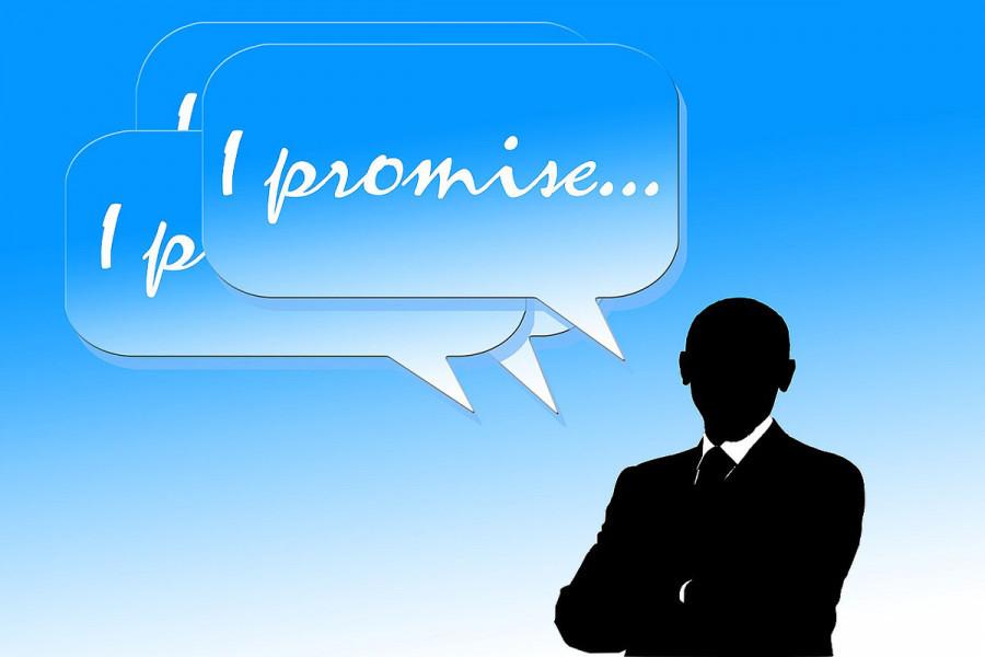 Obećanja, obećanja, obećanja