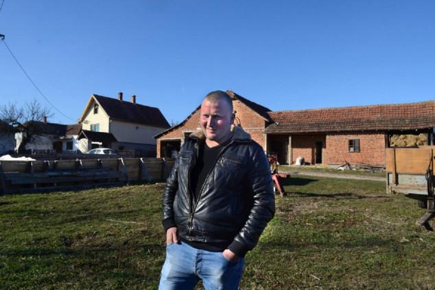 Ostao sam na 20 hektara zemlje i farmi krava
