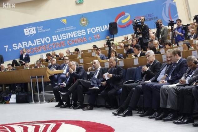 Vodeći investitori na biznis forumu u Sarajevu
