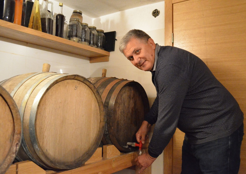 Stjepan Vučemilović - posljednji proizvođač prošeka