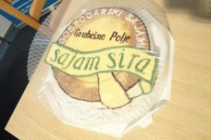 16. gospodarski sajam sira u Grubišnom Polju