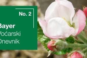 Bayer voćarski dnevnik No. 2 - obavijest proizvođačima jabuke i kruške