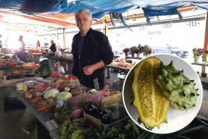 Milan Kantar uzgaja kivano: Afrička dinja među najpopularnijim proizvodima prijedorske pijace