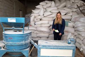Dragana Ilić proizvodi speltino brašno u Pavlovcu