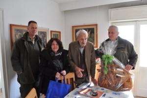 Zvonimir Tomac, prvi upravitelj Šumarije Klana, ove je godine proslavio 100. rođendan