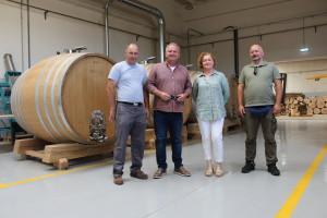 Domaće bačve od 140 godina starog slavonskog hrasta za vrhunska domaća vina