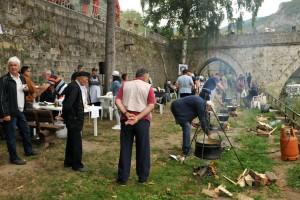"Anika, Lavice, Kamengrad, Momci u plavom... Družili se na ""Drinskom kotliću"""