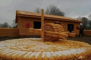 Kuća od kukuruza privukla turiste